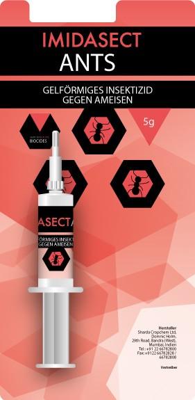 Ameisen-Gel Imidasect 5gr-Blister