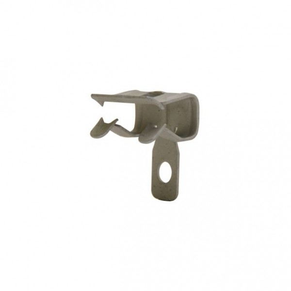 Trägerklemme Edelstahl 3 - 8 mm, 100 St.