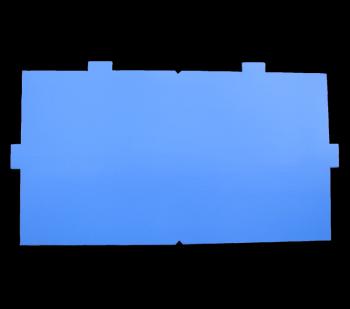 Ersatzklebefolie blau für Fly Shield 2