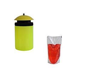 Wespen-Monitor mit Lockstoffbeutel 400 ml