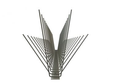 4er-Edelstahlspitzen (V2A) Möwen 180 mm
