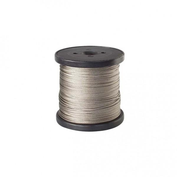 Edelstahllitze 0,54 mm - Rolle zu 250 m