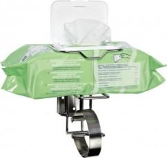Flow-Pack Wandhalter für Desinfektionstücher
