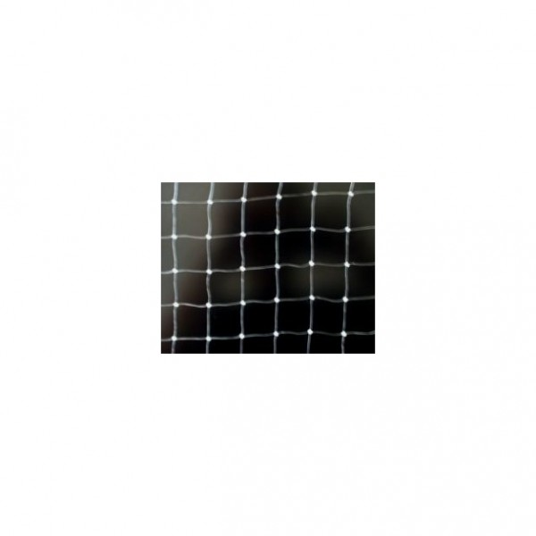 Netz Nylon monofil, Transparent, 50x50 mm Masche, Stärke 0,6 mm