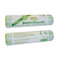 Bio Müllbeutel 10l, Stärke 25my
