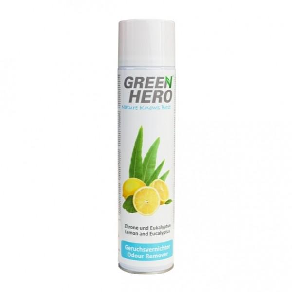 GreenHero® Geruchsvernichter Spray 600 ml