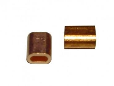 Klemmhülsen Kupfer für 3 mm Litze
